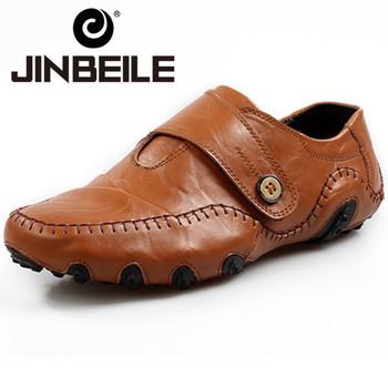 Новые 2015 оксфорды обувь для мужчин натуральной кожи свободного покроя мужской обуви ...