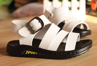 2014 Newest Summer Sandals for boys and girls genuine Leather Shoes Comfortable Fashion Children Shoes With Stripe And Buckle