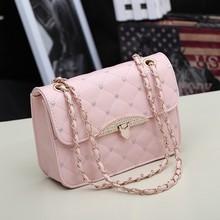 pink leather messenger bag price