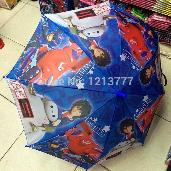 New Sale 2 pcs Cartoon Big Hero 6 Boy/Girls Lovely umbrella thirty percent sunshade QingYuSan(China (Mainland))