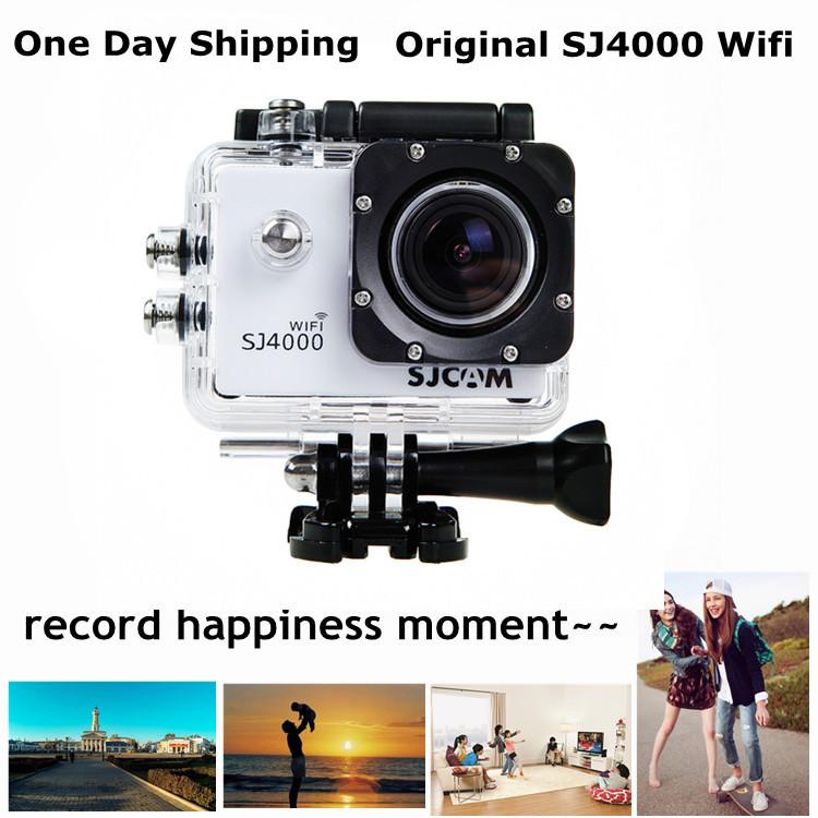 Full HD 1080P Action Camera Original SJ4000 Wifi Waterproof 30M Sport DV Gopro Helmet Camera Motor Mini DV Car DVR 12MP CMOS(China (Mainland))