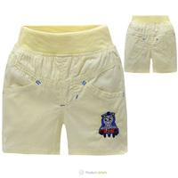 2014 Summer COTTON Shorts Kids Pure Color Short Pants 3 Colors Chose Kids Shorts