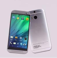 "New HDC 1:1 One M8 Phone 5.0""  MTK6582 Quad Core 2G RAM 16GB ROM IPS Screen 1280*720  13MP Camera phone Dual LED flash light"