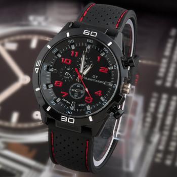 2015 новый свободного покроя кварцевые часы мужчины военные часы спортивные наручные часы прямая поставка силиконовые часы мода часов