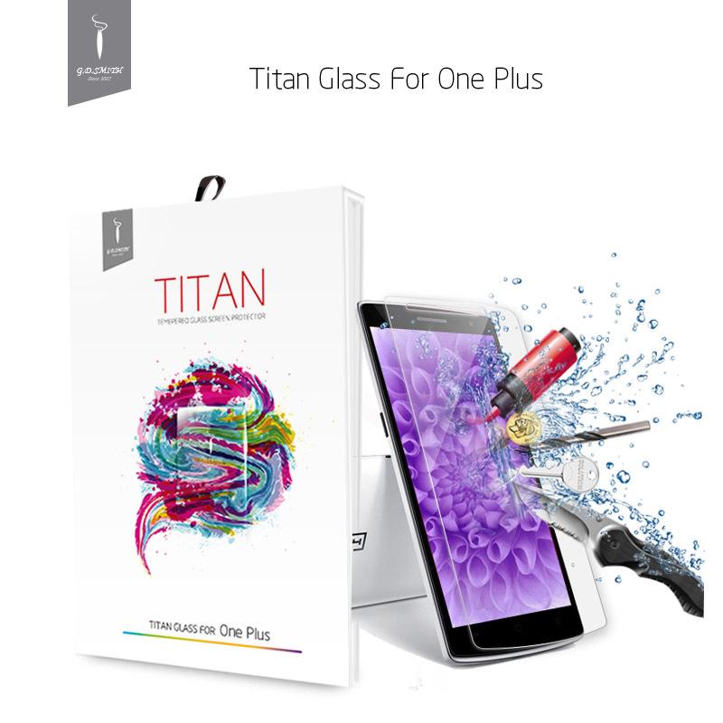 Original Oneplus one Premium Tempered Glass Screen Protector One Plus 1 Brand New protective film GODOSMITH TITAN(China (Mainland))