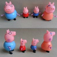 Peppa Pig Plastic Toy Juguetes PVC Family Action Figures Baby Kid Birthday Gift