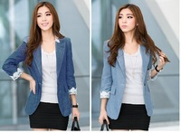 2014 fashion women blazers and jackets ladies lace  blazer feminino plus size women clothing suits for women chaquetas mujer