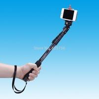 Free Shipping + 2014 New Style Yun Teng C-188 Gopro Monopod Tripod + Phone Holder Tripod Mobile phone Monopod