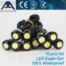 Free Shipping 10pcs High brightness DRL Eagle Eye Daytime Running Light LED Car work Lights Source Waterproof Parking lamp(China (Mainland))