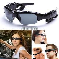 Hot Sale 2GB Sunglass Sun Glass Sports Headset MP3 WMA Player Black #6 SV005820