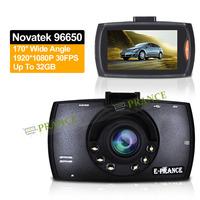 E-prance Original  C8 Car DVR Dash Cam HD 1080P Vehicle Dvr Novatek 96650 Night Vision 170 Degree  Built IN Memory 128MB OT30