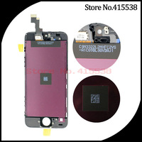 wholesale For iPhone 5 LCD Screen Display With Touch Screen Digitizer Assembly Free Shipping 100% Guarantee high quality
