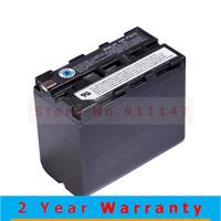 6600mAh NP F970 NPF970 NP-F970 Camera Battery For Sony CCD-RV100 CCD-TRV58 DCR-TRV110K Free Shipping