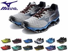 tenis masculinos mizuno 100% original Tenis Mizuno men women wave Prophecy 3 4  wave rider 17 athletic shoes for male dos homens(China (Mainland))