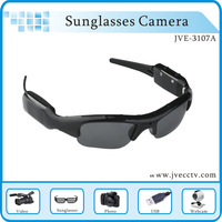 5 Pieces Cheap sunglasses hidden camera,sunglasses camera recorder,usb sunglasses DVR ,video camera recorder,JVE-3107A Free Ship