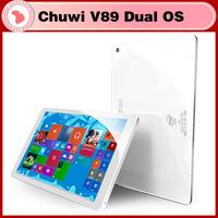New Original Chuwi V89 dual boot 3G Windows 8.1 Android 4.4 8.9 inch Tablet PC Z3735F Quad Core 5.0MP Camera RAM 2GB ROM 32GB