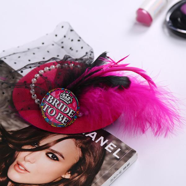 Свадебное украшение для волос Noat party Mariage /top Hat 3N3A0097