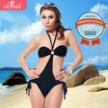 Coolest Summer Popular Black Halter Neck Bikini Sexy One-Piece Swimsuit DY30061 Ohyeah Lingerie