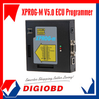 Wholesale price X-PROG M V5.0 metal 18 adaptors ECU PROGRAMMER XPROG M