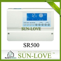 SR500 Solar Controller for Compact Solar Water Heaters,Solar Thermal Controller,110V/220V,LCD Display,Free Shipping