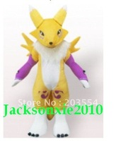 Yellow Digimon Frontier Mascot Costume Halloween Costume Christmas Party Costume