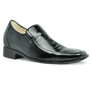 4024 - Hot sale Europe style - Genuine Leather dress shoes for men gain you  7CM  height