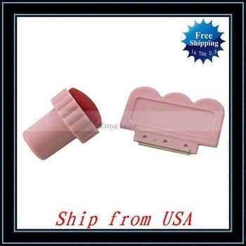 Free Shipping + Wholesale 5pcs/lot Nail Art Stamp / Scraping Knife Tool Ship from USA-H2014