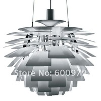 60CM Aluminium Color Poul Henningsen PH Artichoke Ceiling Light Pendant Lamp+free shipping