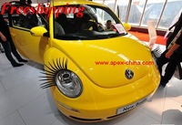 Car Eyelash,Auto Parts carlashes,3D logo sticker,super Valentine's gift,attractive women female accessories