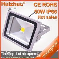 [Huizhuo Lighting] Free Shipping 3pcs/lot Waterproof 50W AC85-265V LED Floodlight  Warm White/White/RGB Outdoor Flood Light Lamp