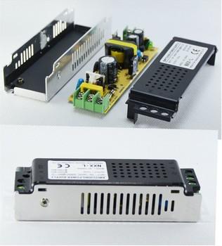 2pcs New Style 60W LED Power Supply for 3528 5050 Led Strip 12V 5A LED transformer for led strip! Free Shipping