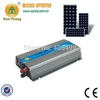 50/60Hz Automatically Adjust Mppt Control DC to AC Type Pure Sine Wave Output 1000W Grid Tie Solar Inverter Power Supplies