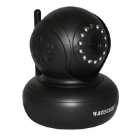 New Plug&Play Wireless WiFi WPA Network Webcam IP Internet Camera Dual Audio Pan Tilt Night Vision IR Home Security Surveillance