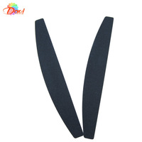 wholsale products for Nails file  50pcs/lot nail tools Black sandpaper plastic emery board for nail art FREE SHIPPING #SC0712-01