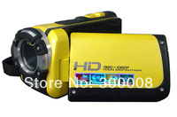 Free shipping for Professional Waterproof digital video camera with 16mp and 3.0 inch TFT LCD screen