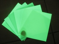 special offer 1x10m /roll Photoluminescent film glow in the dark film self-adhesive, cuttable & printable