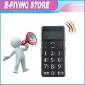 W02 Senoir Mobile Phone for Elder Phone with Big Button FM MP3 Loud Speaker 2pcs/lot SG post Free Shipping(China (Mainland))