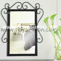 Anti-rust,radiation protection,longevity,professinal making,wrought iron mirror,metal miriror,glass mirror,factory direct sales