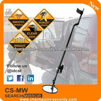 Free shipping! 8 in size glass mirror or convex mirror for under vehicle search CS-MW2