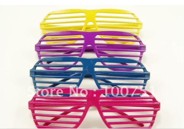 New design fancy dress ball blink window glasses free shipping(China (Mainland))