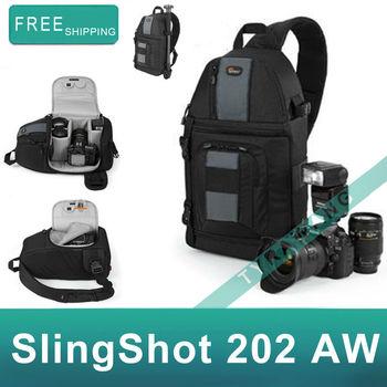 100% Authentic Brand New Lowepro SlingShot 202 AW Digital Camera Photo Bag Shoulder Bag Sling Bag for dslr slr