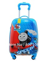 EMS free shipping cute cartoon luggage bag Nice design with ABS material, good quality, durable