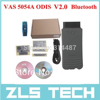 Bluetooth VAS 5054A ODIS V2.0 Multi-language Diagnostic Tool For VW Audi Skoda Seat Free Shipping