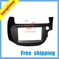 Free shipping-Car refitting DVD frame,DVD panel,Dash Kit,Fascia,Radio Frame,Audio frame for 2008 Honda Fit ( Right Hand), 2DIN
