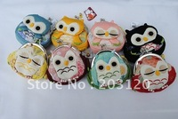 **Big Sale**48 pcs~JapanOwl Coin Purse/Purse/Wallet/Coin Bag/Genuine Goods100% (CP-09)