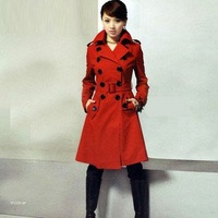2014 LADIES  HOT SALE WOOLEN COAT,WOMEN'S FASHION WOOLEN JACKET,WINTER JACKETS,OUTERWEAR FREE SHIPPING 808