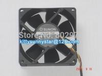 SUNON 8025 KDE1208PTV1 12V 1.8W 13.MS.AF.GN 3Wire Cooling Fan