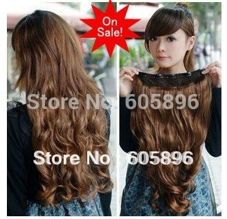 free shipping big sale fashion 5 clip in hair extension 20