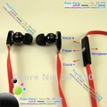 wholesale free shipping In-Ear earphone headphone with control Talk microphone High resolution Earphones Hot!