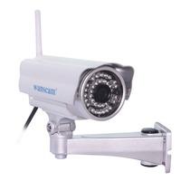 Wireless WiFi Megapixel HD 720P Manual Pan/Tilt H.264 IR Cut Outdoor Waterproof Night Vision Security Network IP Internet Camera